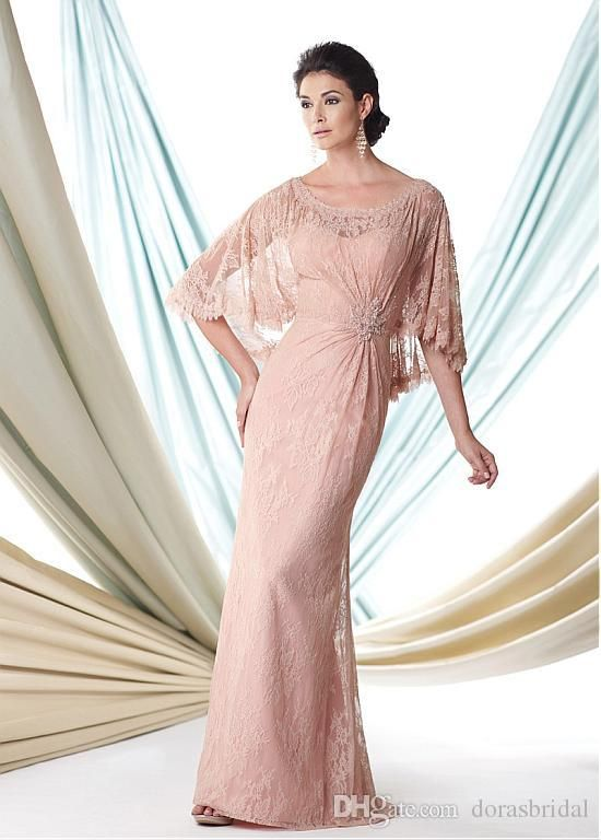 On Sale! Lace Mother Of The Bride Dresses Trumpet/Mermaid Scoop Neck Floor Length With Applique Beads Cheap Wedding Guest Dresses #dl30120 Mother Of The Son Dresses Mother Of The Wedding Dress From Dorasbridal, $88.45| Dhgate.Com