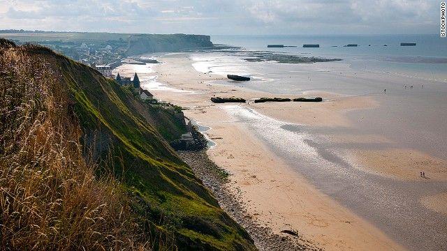 CNN World's 100 best beaches - #42. D-Day beaches, Normandy, France.