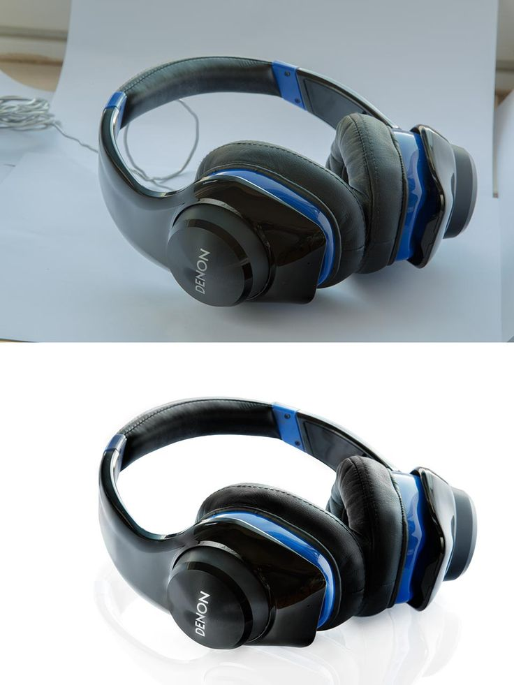 Product Retouching by Retouch Gem. Headphones Before - After