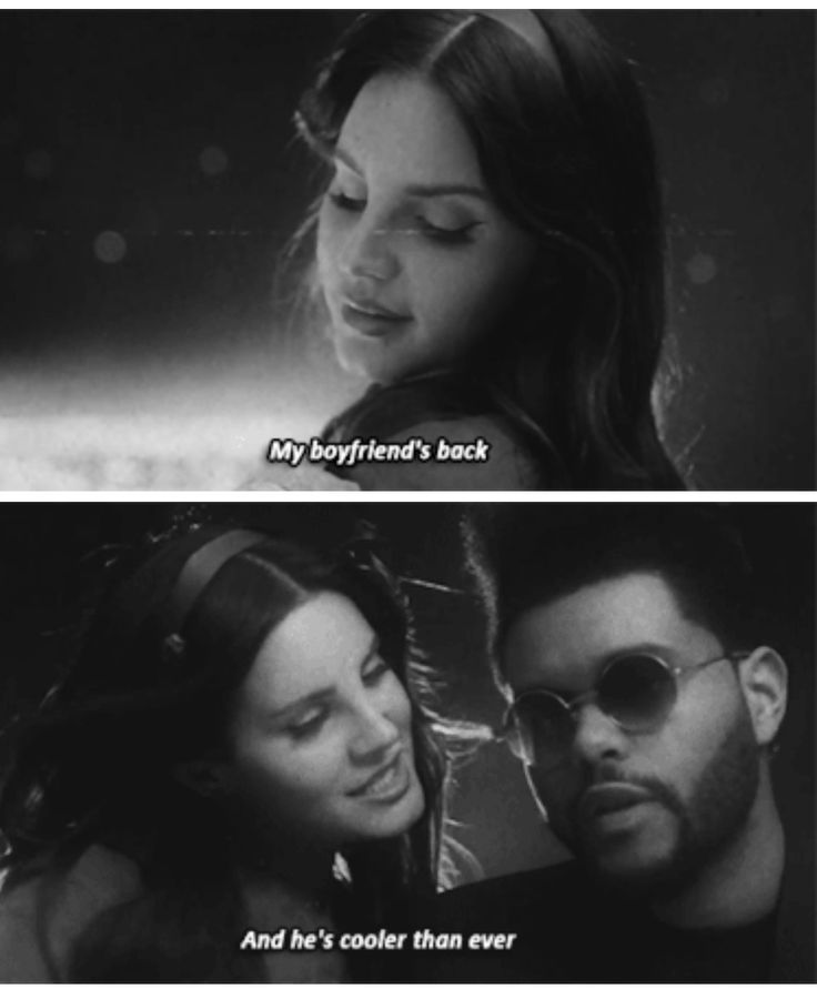 "Lana Del Rey and The Weeknd in a Lust For Life #LDR #TheWeeknd #Lust_For_Life .... I know that The Weeknd isn't her boyfriend, but he is really ""cooler than ever"" now"