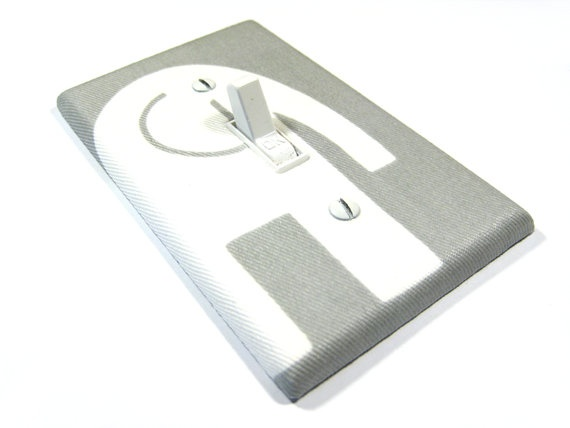 Gray Elephant Light Switch Cover Grey Elephant Nursery