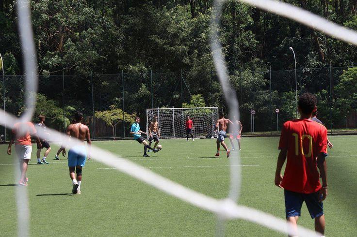 Recreação Livre de Futebol Soçaite no Sesc Itaquera
