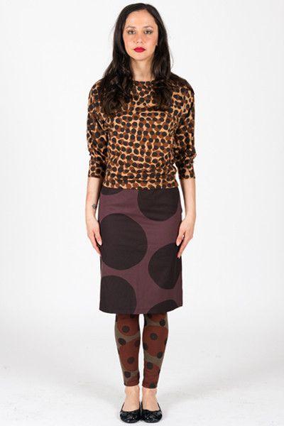 Spot Large - Pencil Skirt Woven