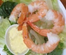 Summer Prawn Salad with chilli mango mayonnaise | Official Thermomix Recipe Community
