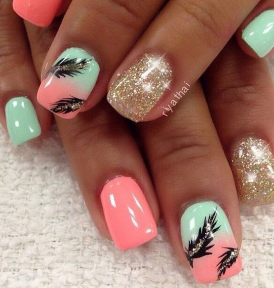 Cool Nail Designs For Short Nails: 199 Best Images About Short Nails Design On Pinterest