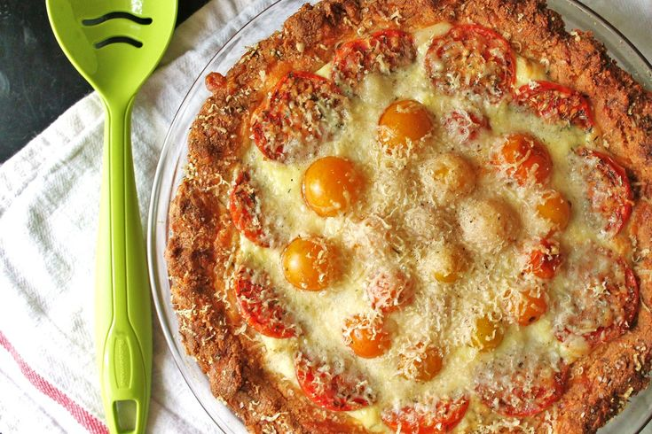 SCD Three Cheese Tomato Pie (*Substitute DCCC for feta cheese & use SCD mayo...)