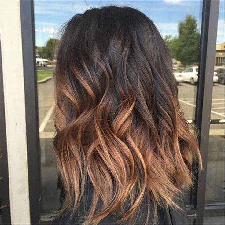 60 Stunning Caramel Highlight Hair Color Ideas In 2019 – Page 5 of 60 – Chic Hos… – ombre curly hair