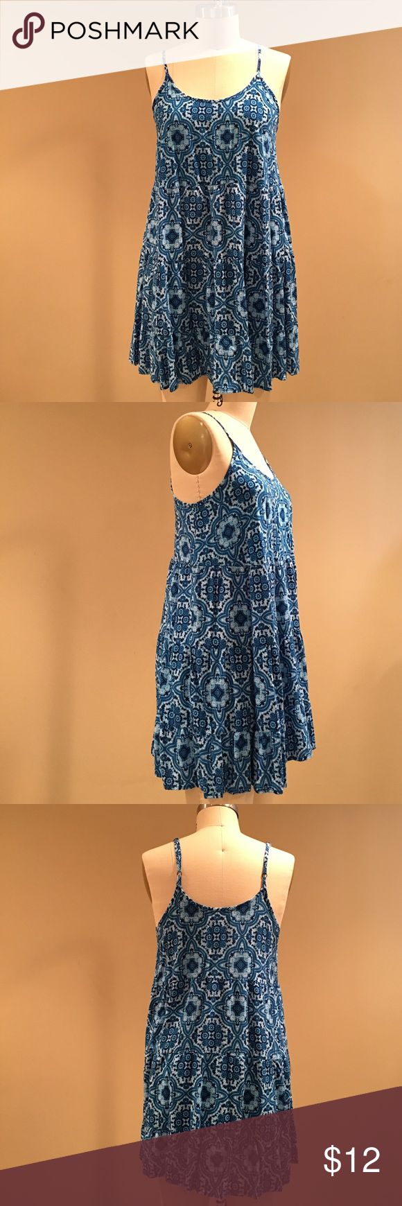 Mossimo Bohemian Summer Dress *Fits like a medium* The perfect dress for summer: Lightweight, comfortable, and loose-fitting! Great for music festivals! Also looks really cute with skinny jeans! 100% rayon. Machine washable. Mossimo Supply Co. Dresses Mini