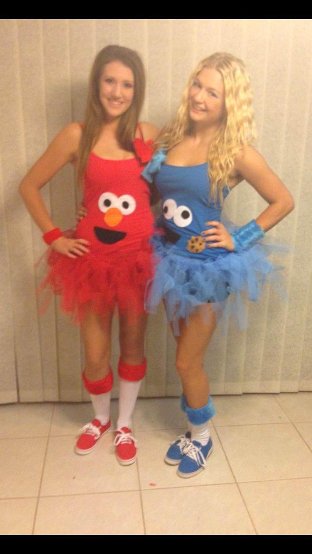 elmo and cookie monster costumes for halloween diy halloween costumes - Happy Halloween Costume