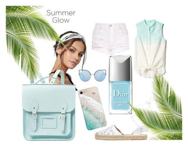 Summer 2 by una-s on Polyvore featuring moda, Gap, Maiden Lane, The Cambridge Satchel Company, LULUS, Gray Malin, Matthew Williamson, Summer, beachday and Trendy