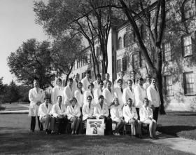 Third year students of TTUHSC School of Medicine in 1972.