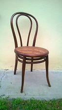 ORIGINAL Thonet stuhl nr 18 MIT DOPPEL FUßRING der 1875 +-
