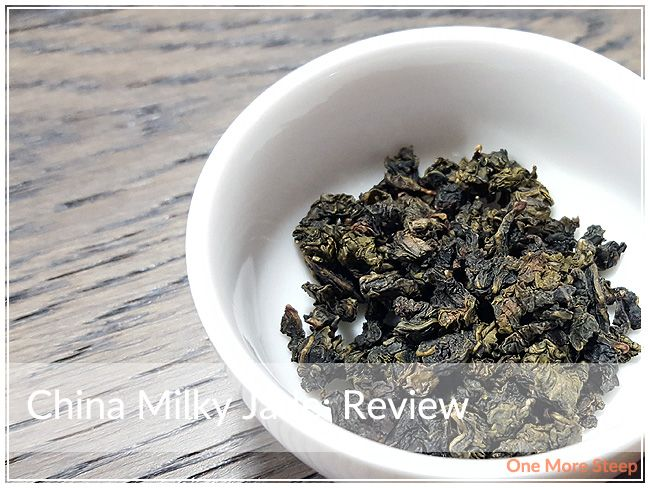 Review of Tea Haus's China Milky Jade on One More Steep