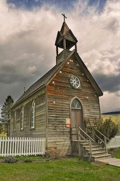 a sweet old church... on Pinterest | Old Country Churches, Church ...