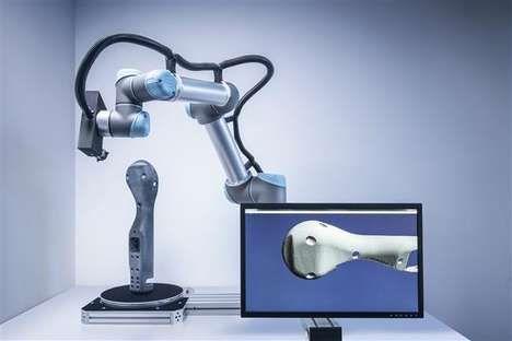 Escáner 3D en tiempo real:  El sistema de escaneo 3D de Fraunhofer IGD revela al instante las estadísticas