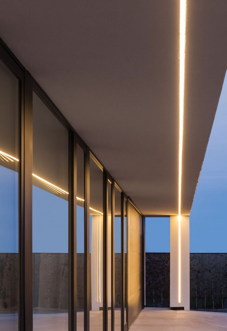 Linear recessed fixture exterior with corner detail 60 best REVE lighting concepts images on Pinterest   Lighting  . Exterior Recessed Canopy Lighting. Home Design Ideas