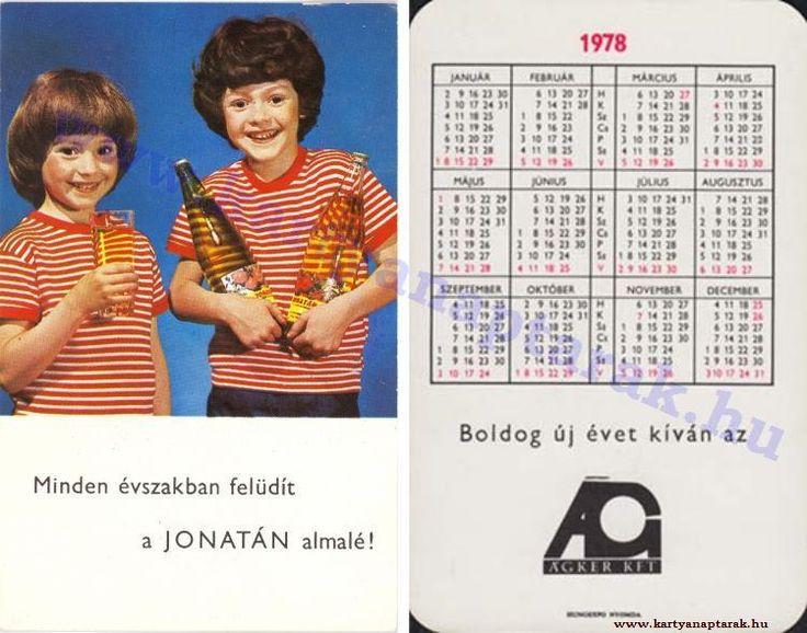 1978 - 1978_0921 - Régi magyar kártyanaptárak