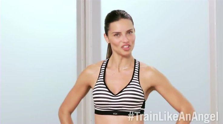 See Adriana Lima's Cardio Circuit on video.self.com