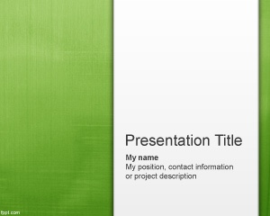 light green PowerPoint presentation background - #Free PPT template for anyone looking for an original PPT template slide design