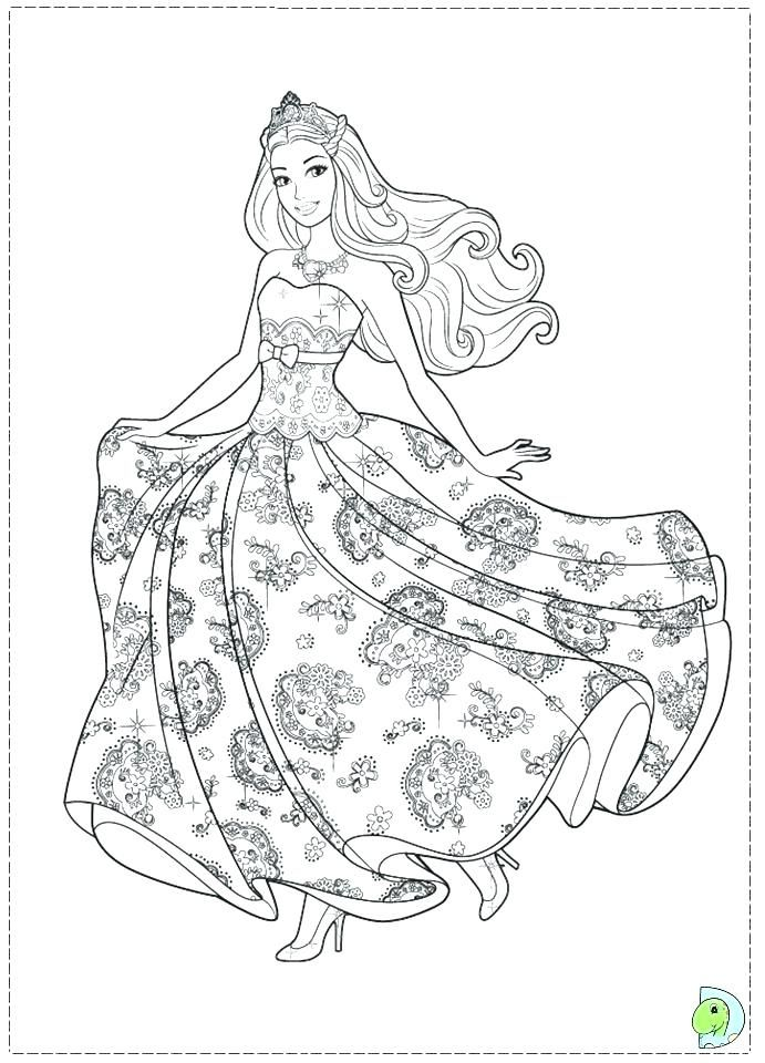 Barbie Mermaid Tale Printable Coloring Pages Printable Coloring