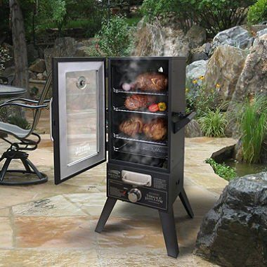 Smoke Hollow 36 Quot Lp Gas Smoker Propane Smokers Gas