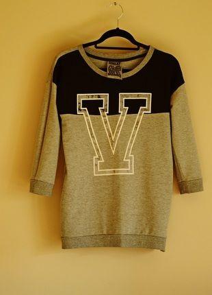 Kup mój przedmiot na #vintedpl http://www.vinted.pl/damska-odziez/bluzy/11070472-bluza-sinsay-szaro-czarna-l-34-rekawy