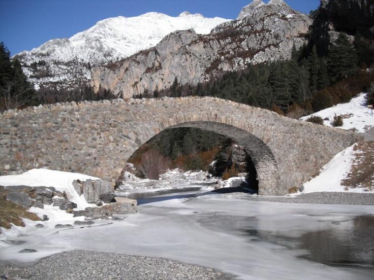 Bujaruelo, puente de San Nicolás de Bujaruelo