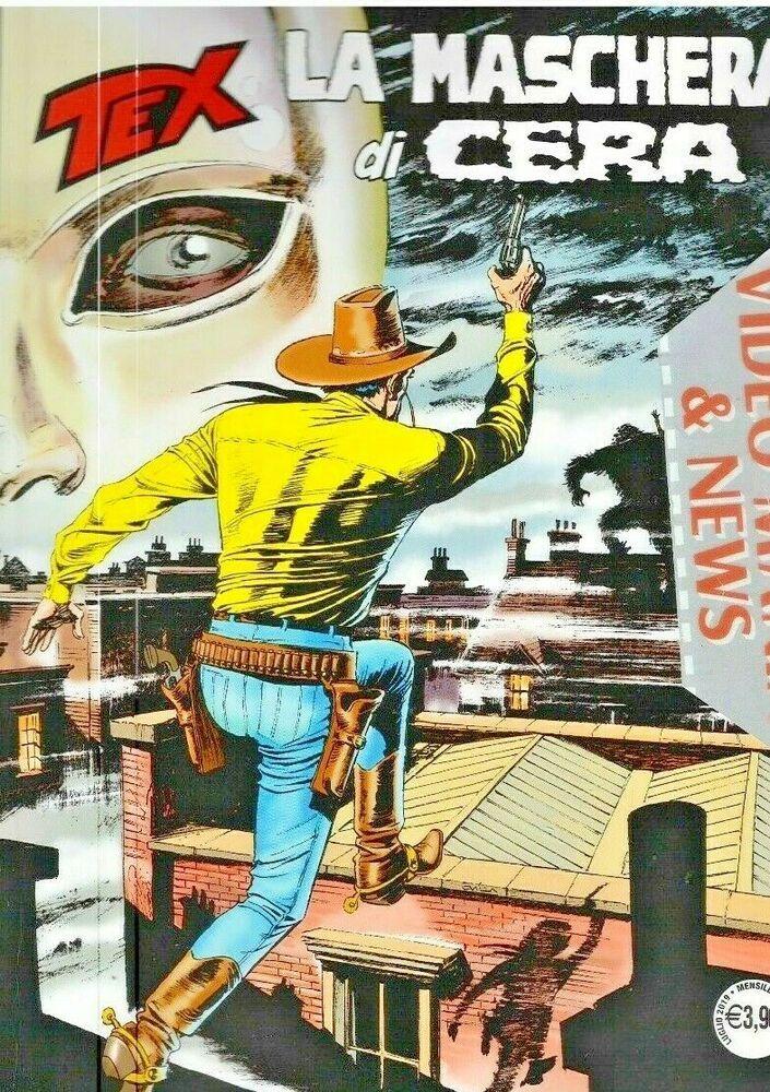 Tex 705 La Maschera Di Cera Sergio Bonelli Editore Con Immagini