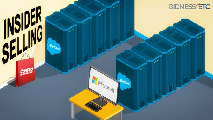 Insider Selling - Microsoft Corporation (MSFT), Salesforce.com, inc.(CRM), And Costco Wholesale Corporation (COST)