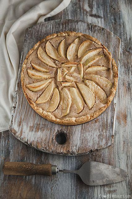 Apple-Cinnamon Pie | Rustic Apple pie & tarts | Pinterest