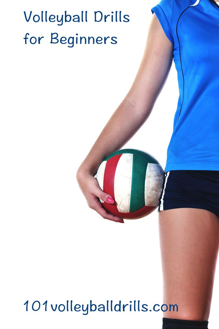 Improve beginner players' volleyball game with these drills that will develop proper form and technique for every volleyball skill from serving to setting.