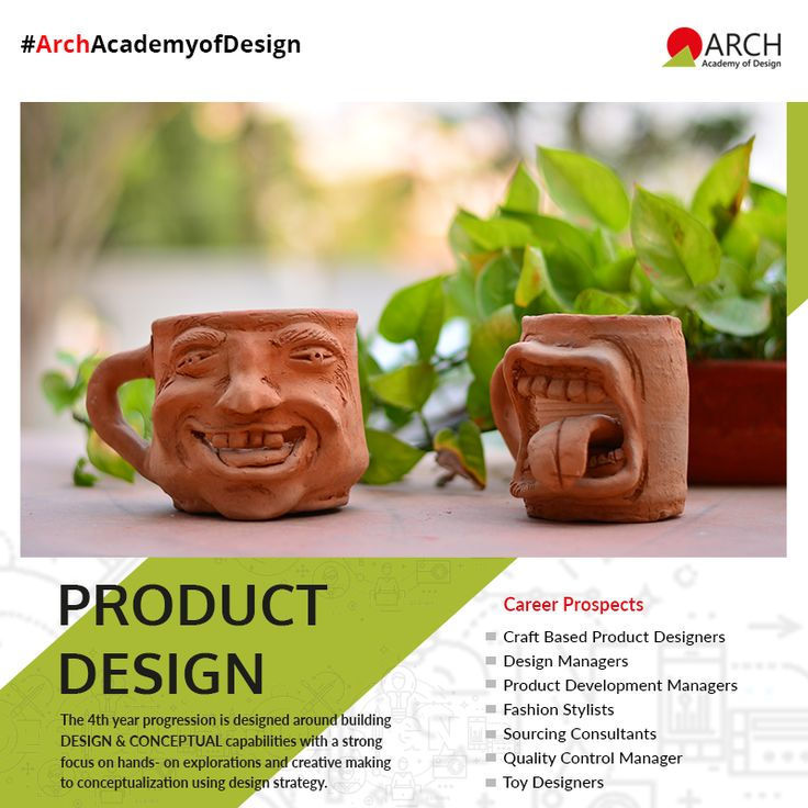 The 4 year Undergraduate Course in Product Design is designed around building design and conceptual capabilities with a focus on hands-on explorations and creative making to conceptualization using design strategy. Learn to be a professional Product Designer at the leading design institution #ArchAcademyofDesign. Visit http://www.archedu.org/fashion.html to know more.