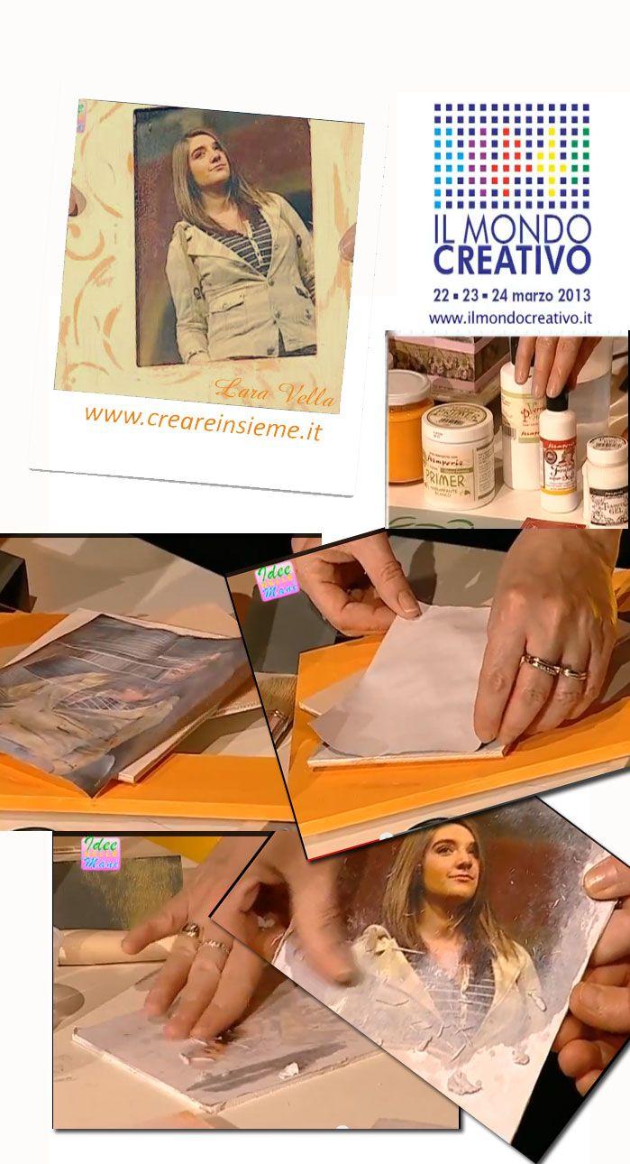 Creare Insieme - lezioni, corsi per hobby creativi, creativitàe progetti sul web - Redazione di Lara Vella www.creareinsieme.it