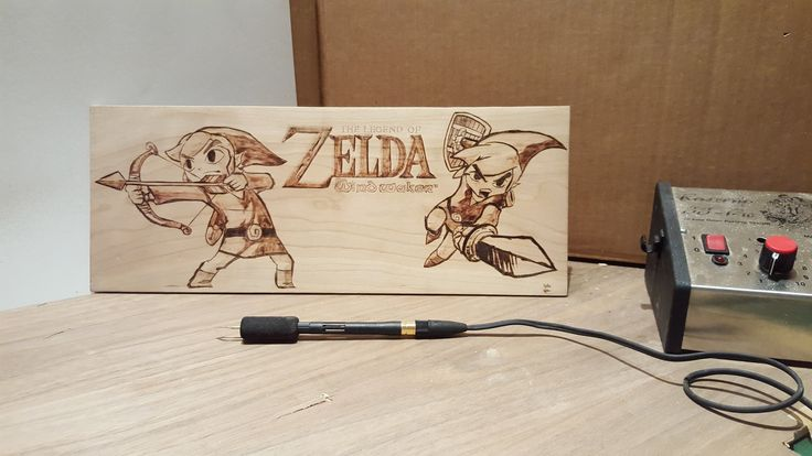 DDW-30: Zelda Wind Waker Wood Burning