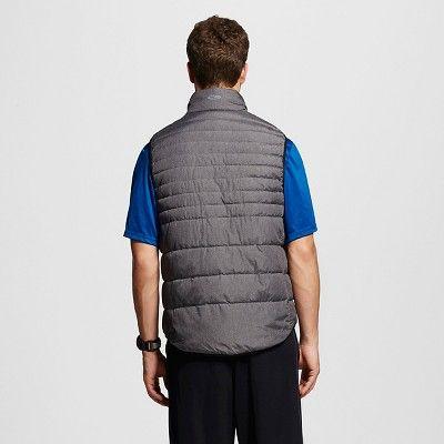 Men's Lightweight Puffer Vest Dark Gray 2XL - C9 Champion, Size: Xxl, Grey