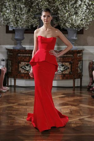 Evening Gown by Romona Keveza