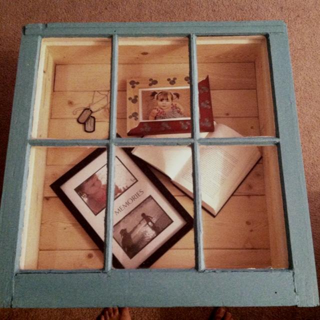 Old Window Coffee Table