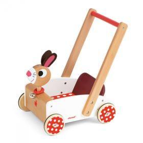 Janod - Chariot de Marche Crazy Rabbit