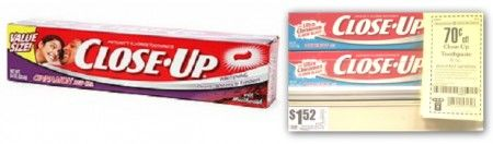 Close-Up Toothpaste, Only $0.82 at HEB!