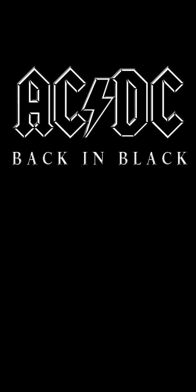 Pin By Lionel On Black And White Acdc Wallpaper Rock Album Covers Band Posters