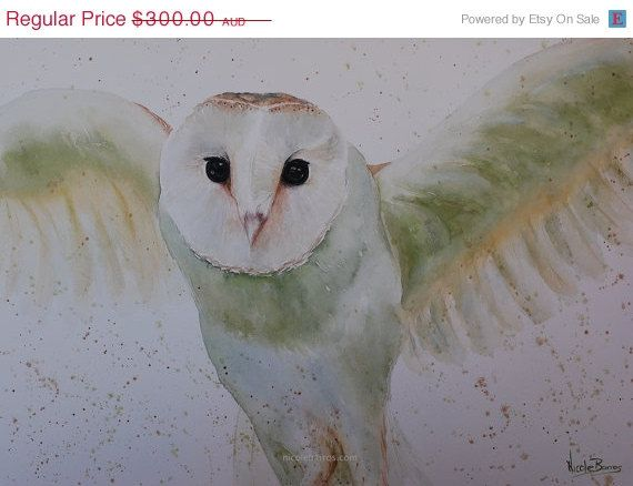 ON SALE 20% OFF Original Watercolour painting by NicoleBarrosArt