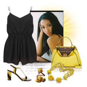 Yellow & Black