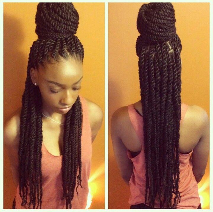 Strange 1000 Ideas About Marley Twist Styles On Pinterest Marley Braids Short Hairstyles For Black Women Fulllsitofus