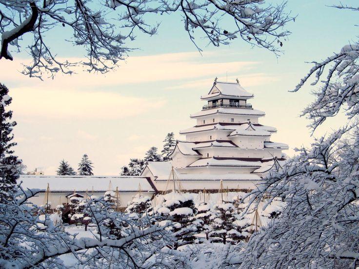 会津若松城 Aizuwakamatsu Castle (aka 鶴ヶ城 Tsuruga Castle)