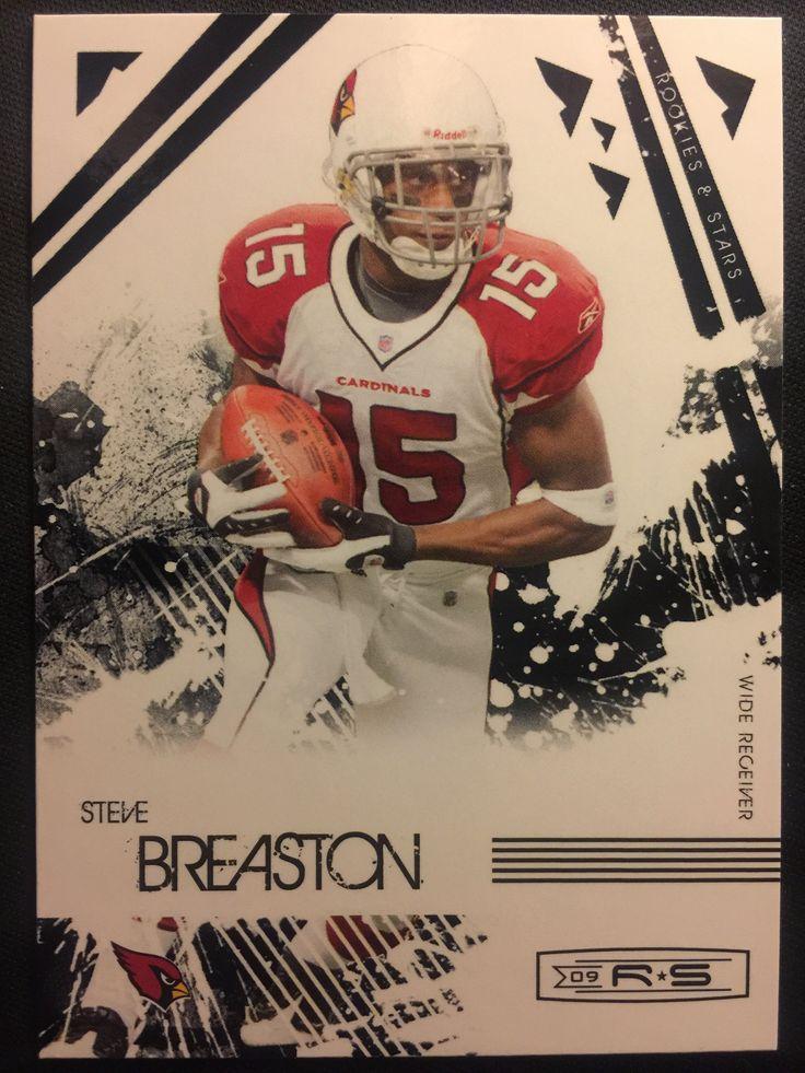 2009 Rookies & Stars #3 Steve Breaston Arizona Cardinals