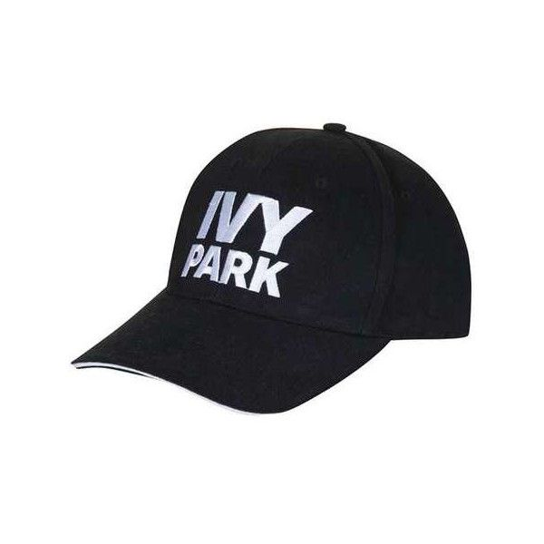 Logo Baseball Cap by Ivy Park (€23) ❤ liked on Polyvore featuring accessories, hats, baseball hats, sports hats, topshop hats, sport hats and logo baseball caps