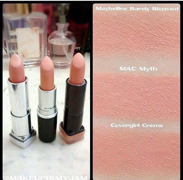 MAC myth lipstick dupes!!