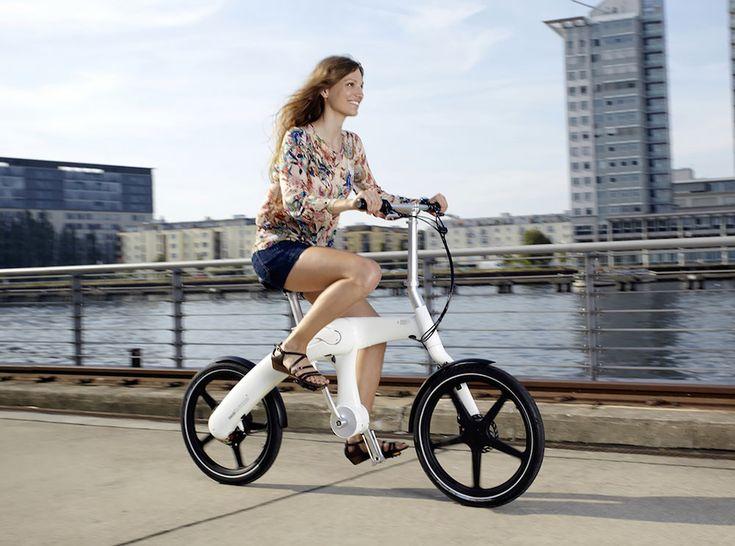 Risultati immagini per Vello Bike +: la prima bicicletta elettrica pieghevole che si ricarica pedalando
