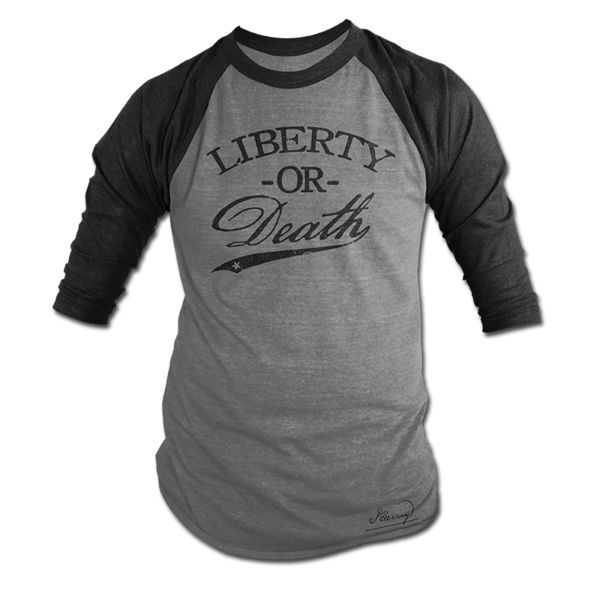 Liberty Or Death Jersey - Blacked Out