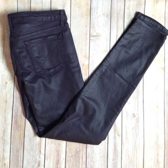 Joe's The Skinny plum jean Made in the USA. These jeans are in excellent/like new condition. So comfortable! Plum color. Joe's Jeans Jeans Skinny